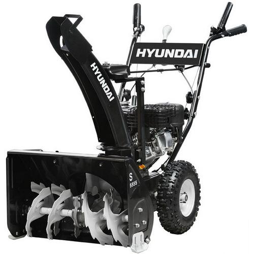 снегоуборщик бензиновый hyundai s5555 тех хар