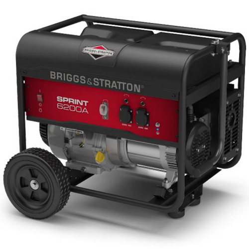 Фото - бензиновый генератор Briggs & Stratton Sprint 6200A