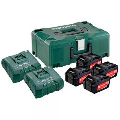 Metabo Basic-Set 4x Li 5,2Ah