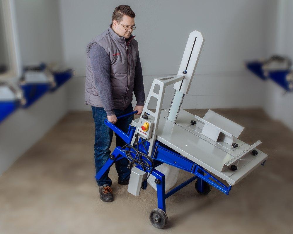 станок для резки блоков из газобетона
